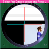 select qframe first corner
